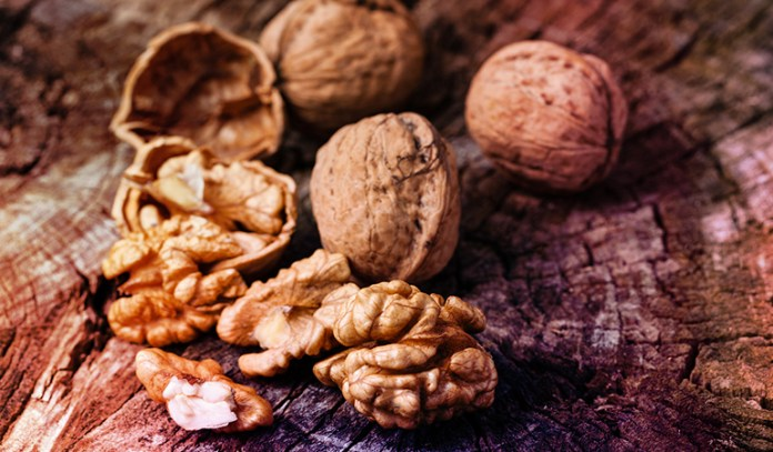 About 7 walnuts have 2.57 gm ALA