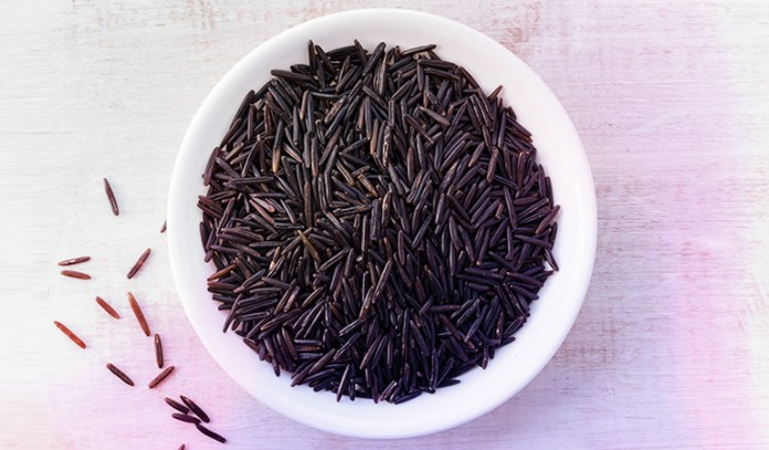 Wild rice is a good source of omega 3 fatty acids.