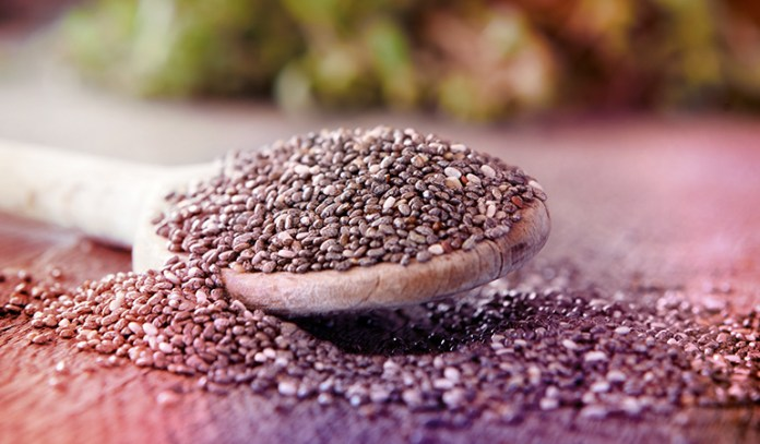 An ounce of chia seeds has 5.055 gm of ALA