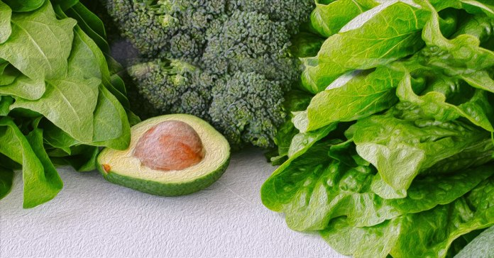 Fruits and vegetables rich in zinc.