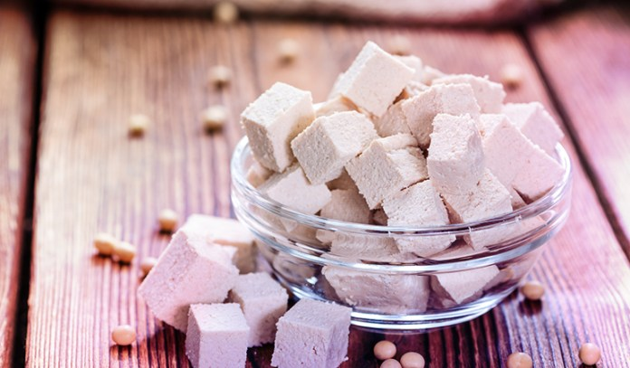 Half a cup of tofu (made with calcium sulfate has 0.733 gm of ALA per half cup