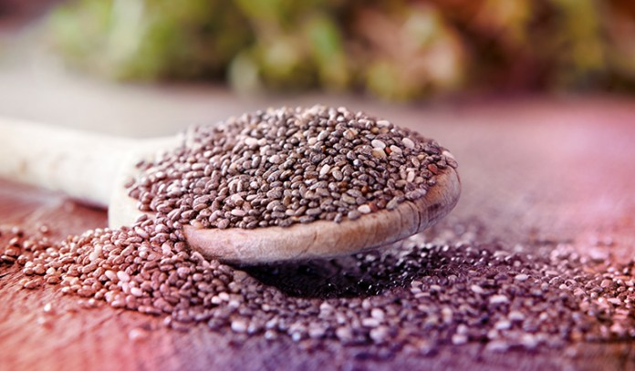 An ounce of chia seeds offers 5.055 gm of ALA.