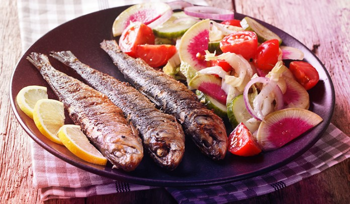 A serving of canned sardines has 0.468 gm of DHA and 0.435 gm of EPA