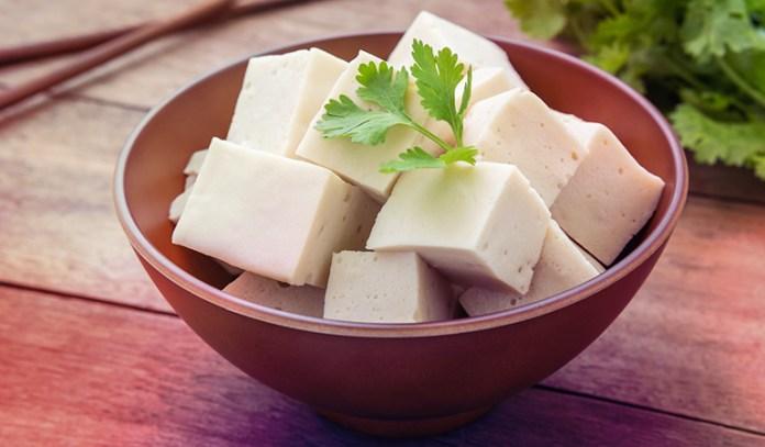 Tofu is a good source of omega 3 fatty acids.