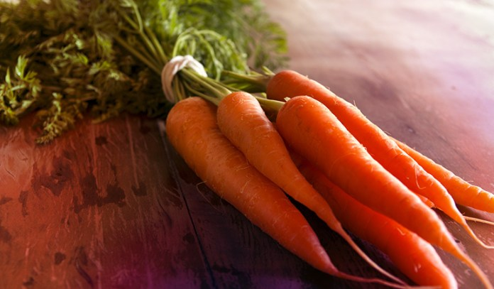 One cup of grated raw carrots has 918 mcg RAE of vitamin A.