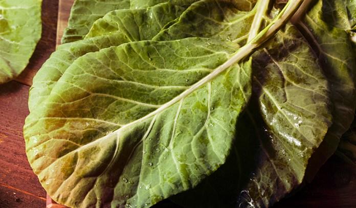 1 cup of collard greens: 40 mg of magnesium (9.5% DV)