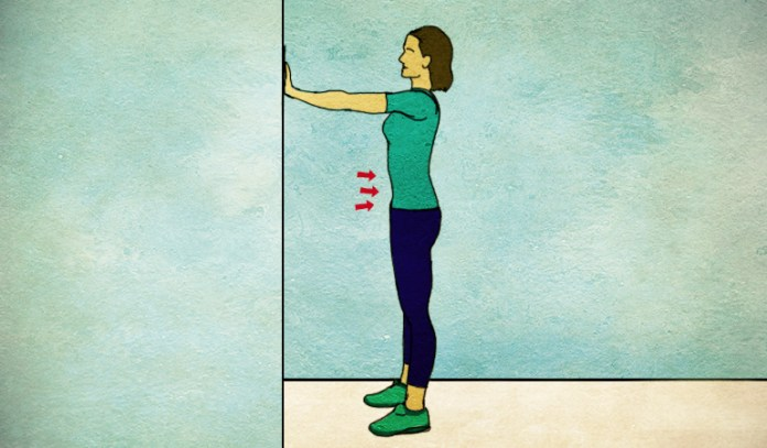 Upright plank with support gets rid of diastasis recti.