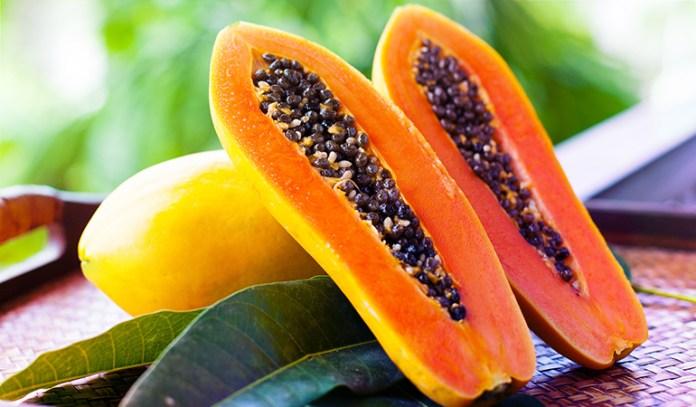 A cup of cut papaya: 0.43 mg of vitamin E (2.9% DV)