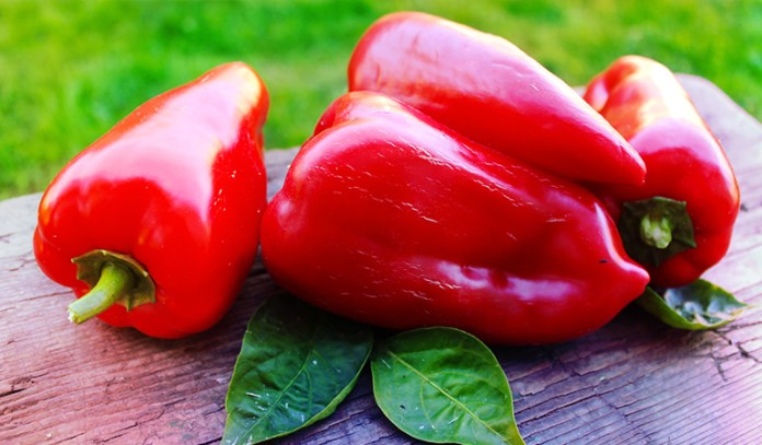 A cup of red pepper: 2.35 mg of vitamin E (15.7% DV)