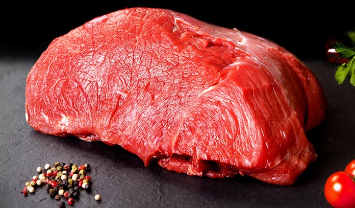 A serving of beef steak: 2.83 mg of iron (16% DV)