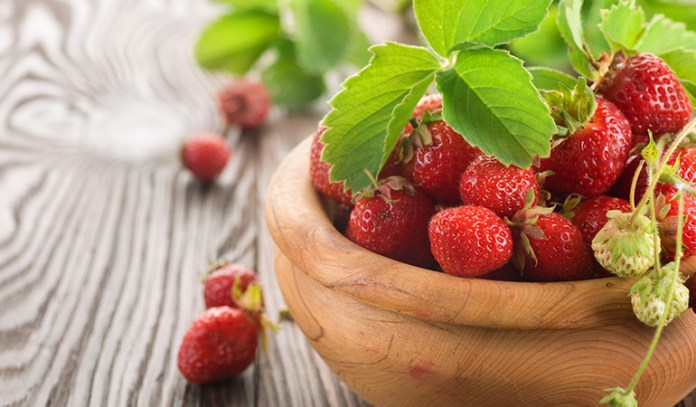 1 cup of berries: 97.6 mg of vitamin C (108.4% DV)