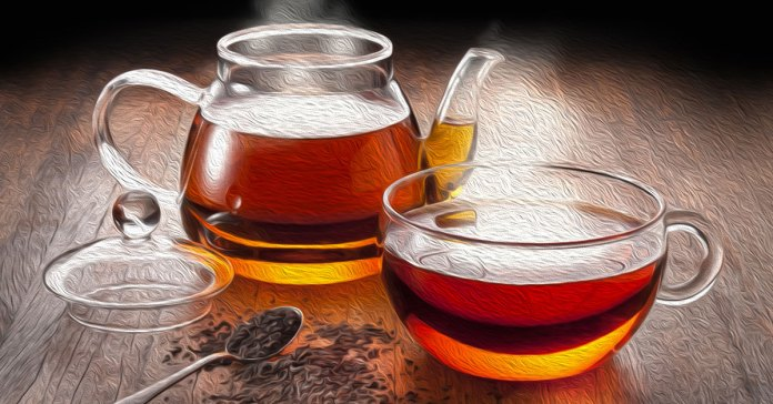 Black tea can help with weight loss.