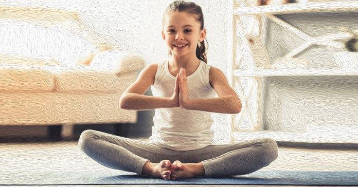 Yoga poses for kids.