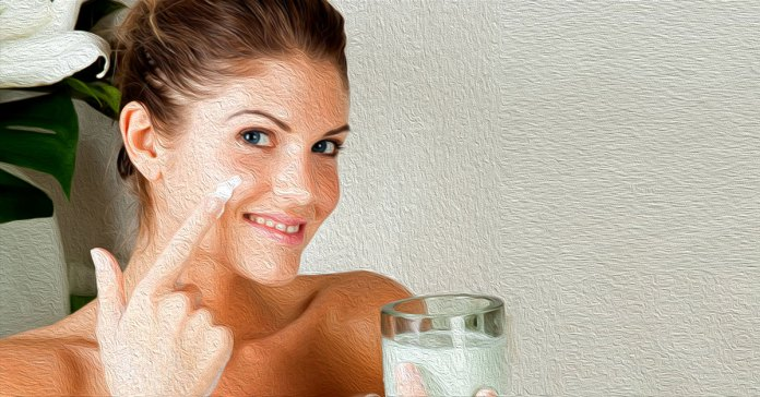 Milk has many benefits for the skin.