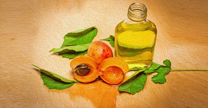 Apricot oil has many benefits for the skin.