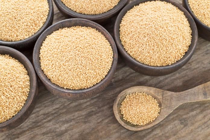 Health benefits of amaranth.