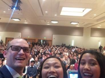 CURE Symposium selfie