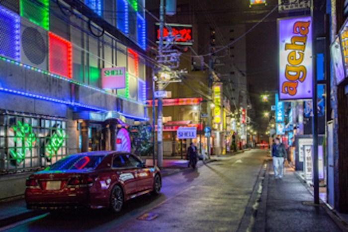 川崎ソープ街画像