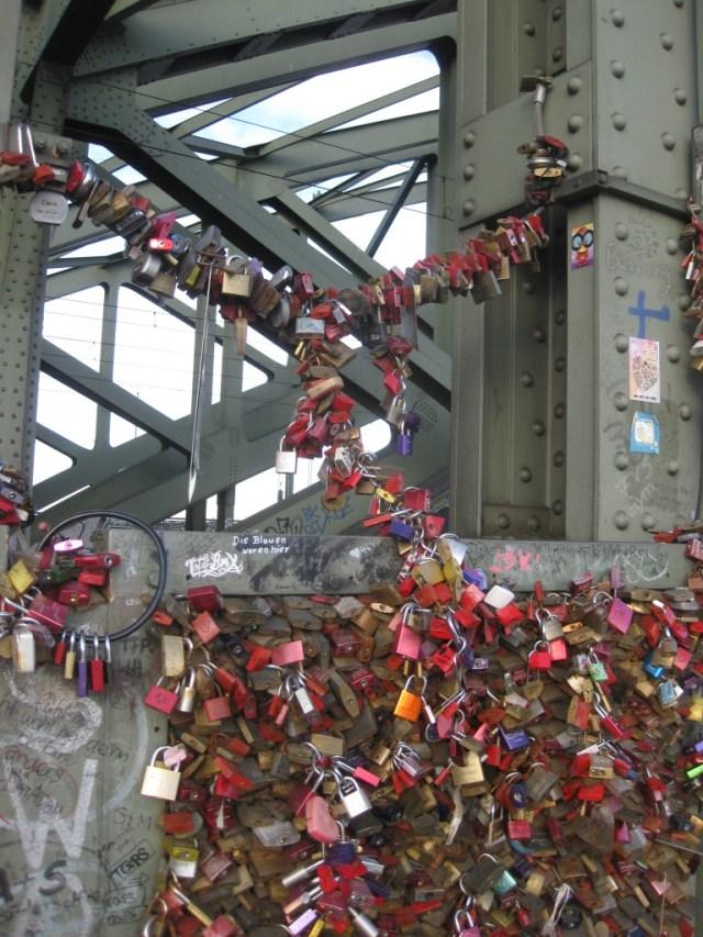 Cologne : Pont des Amoureux