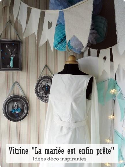 vitrine mariée