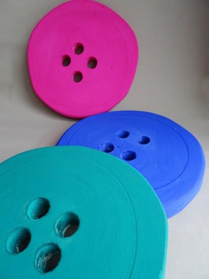 Faux boutons géants-DIY