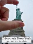 Quatre jours à New York avec des enfants-Quartier de Manhattan