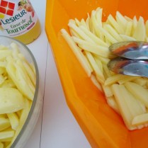 Faire de vraies frites au four