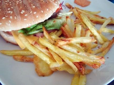 vraies frites au four