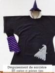 Coudre et customiser un déguisement de sorcière-DIY