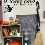 5 idées déco pour Halloween