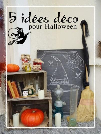 5 id es d co pour halloween curieusement bien. Black Bedroom Furniture Sets. Home Design Ideas