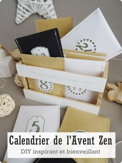 calendrier de l'avent zen