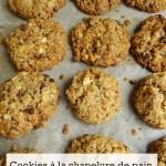 Cookies à la chapelure de pain-Recette thermomix
