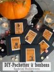 DIY Pochettes à bonbons - Spécial Halloween