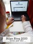Bilan du blog 2020-Mes envies pour 2021