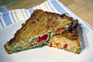 Sweet Pepper Pesto Grilled Chees