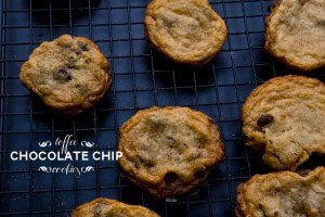 gluten free toffee chocolate chip cookies
