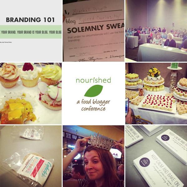 nourished food blogger conference snapshots