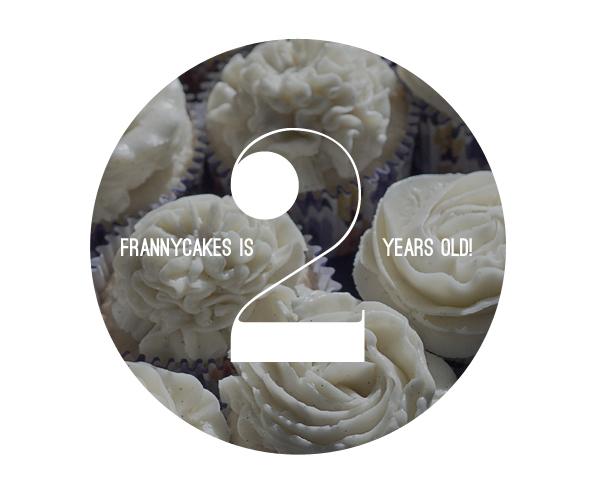 FrannyCakes is 2!