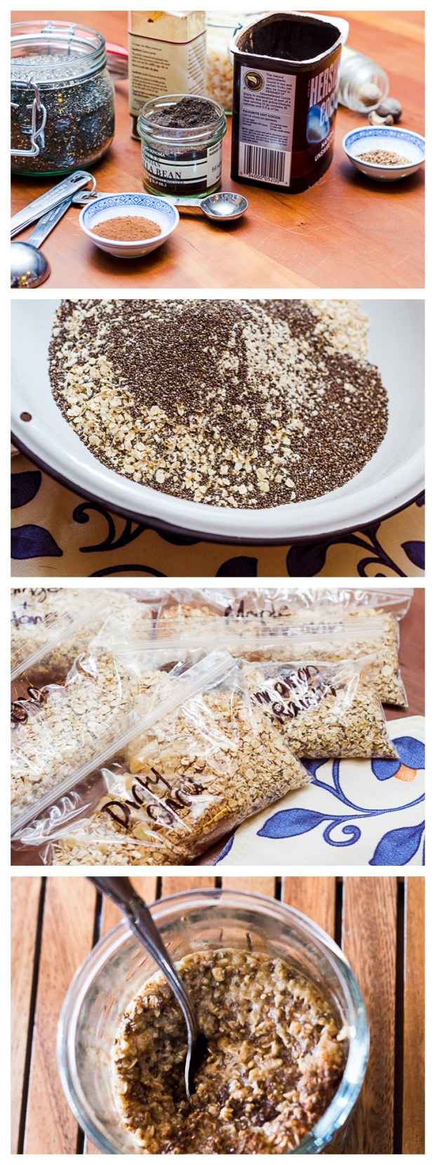 how to make home made gluten-free instant oatmeal from frannycakes
