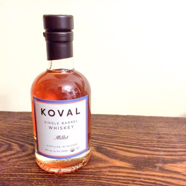 Koval Millet Whiskey found at the Green City Market