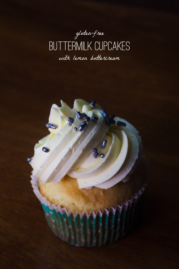 a recipe for gluten-free buttermilk cupcakes
