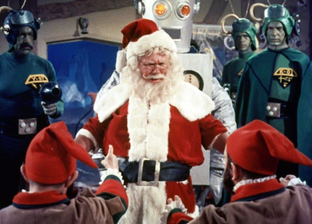 "Extrait du film ""Santa Claus Conquers the Martian"" de Nicholas Webster (1964)"