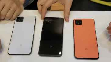 Novo Pixel 4 - smartphone Google chegou