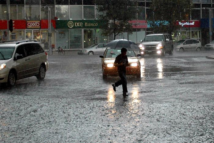 Tremendas lluvias en méxico