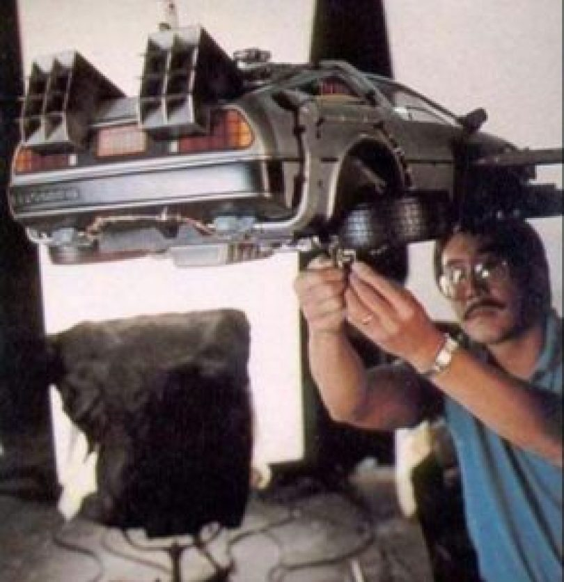 De Volta Para o Futuro 19 290x300 - Cenas raras dos locais de gravação do filme De Volta para o Futuro