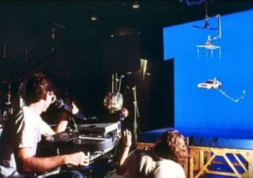 De Volta Para o Futuro 6 300x212 - Cenas raras dos locais de gravação do filme De Volta para o Futuro