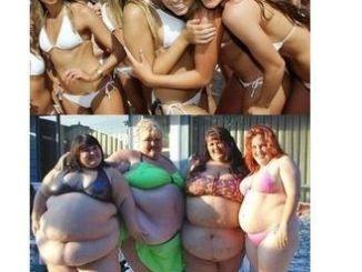 diferencia entre gordas y flacas