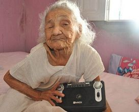Una brasileña de 116 años, confiesa que nunca tuvo novio