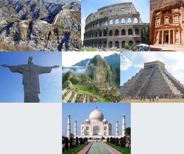 Maravillas del Mundo Actual Moderno